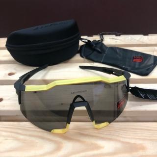 2019Leopard Vortex TR90 - Shiney Black/Yellow - Smoke lens PBC131