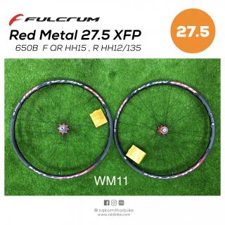 Fulcrum Metal XRP 27.5 F QR/HH15 R HH12/135 [WM11]