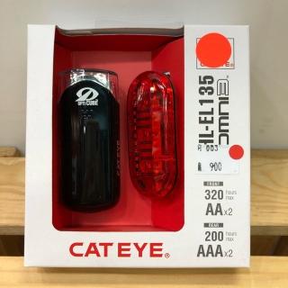 ชุดไฟหน้าไฟท้าย Cateye HL-135 + Omni3