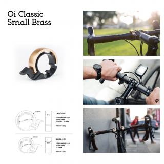 Knog Oi - Small Brass