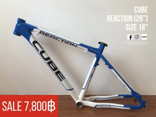 "Cube Reaction ล้อ 26"" / Size 18"""