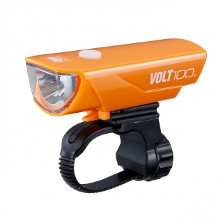 Cateye Volt 100 (USB Charge) - Orange