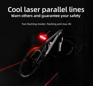 ไฟท้ายจักรยาน MEILAN X5  ความสว่าง 85 LM