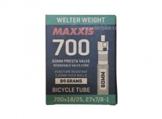 MAXXIS 700x18-25 Welter weight 60mm presta valve
