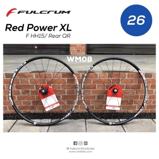 "Fulcrum Red Power XL 26"" [wm08]"