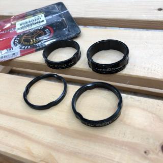 แหวนรองคอ A2Z 3mm./5mm. - Black