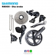 ชุดขับ SHIMANO ULTREGRA R8020 - Disc brake