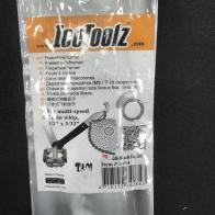 Icetoolz ชุดโซ่หมุนถอด-ใส่เฟือง+  ขันบันไดได้ 15mm pedal