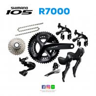 ชุดเกียร์ Shimano 105 R7000 (ตีนผีขาสั้น)