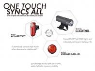 ชุดไฟ Cateye Syncecore + Synckinetic