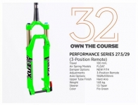 "FOX Racingshox Limited 27.5"",29"" Remote"