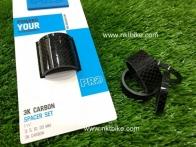 แหวนรองคอ PRO 3K Carbon