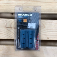 Brakco Brake pad for carbon (R-453)